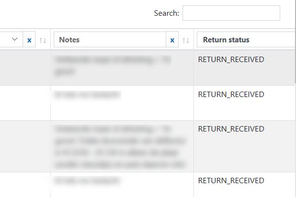 Retours afhandelen Bol.com-automatisering
